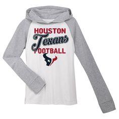 T-Shirt Houston Texans Team Color XL, Girl's, Gray White
