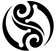Yin Yang Tattoo Design