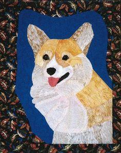 Welsh Corgi quilt pattern, @Michele Morales Morales Morales Morales Farley isn't this so cute!