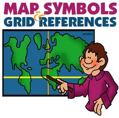 Map Symbols - Geography for Kids and Teachers (links to lessons)