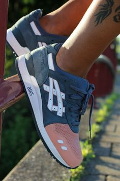 Salmon Toes. Ronnie Fieg x Asics. #sneakers | Raddest Men's Fashion Looks On The Internet: http://www.raddestlooks.org
