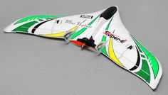 Tech One RC 3 Channel Neptune Almost Ready to Fly 588mm Wingspan (Green)