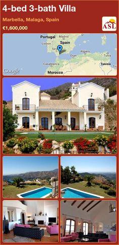 4-bed 3-bath Villa in Marbella, Malaga, Spain ►€1,600,000 #PropertyForSaleInSpain