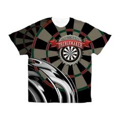 Trademark Treblemaker All Over Print Darts Shirt from $64.99. Customization available!