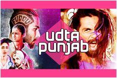 Udta Punjab, Film Review, Movies, Movie Posters, Films, Film Poster, Popcorn Posters, Cinema, Film Books