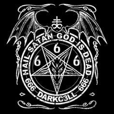 Hail all of you and Hail Satan! Occult Symbols, Occult Art, Baphomet, Estilo Heavy Metal, Lsd Art, Evil Demons, Satanic Art, Evil Art, Arte Obscura