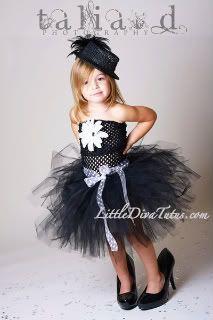 Little Black Dress by Little Diva Tutus