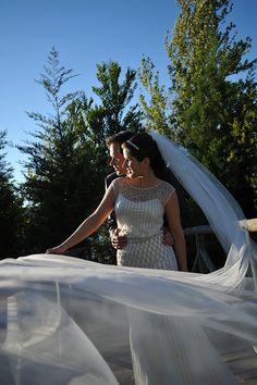 O casamento de Pedro e Inês, em Alenquer. #casamento #noivos #Portugal #Alenquer #veu #vestidodenoiva