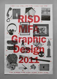 RISD Graphic Design MFA Thesis Show by Salem Al-Qassimi