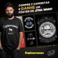 PROMOÇÃO: Pôster do Star Wars grátis na LOLJA!