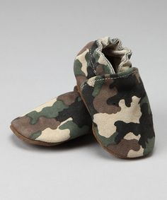 Take a look at this Augusta Baby Camo Booties on zulily today!