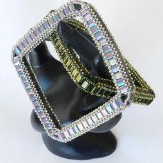 Bella Bangle-Tila Beads   JewelryLessons.com