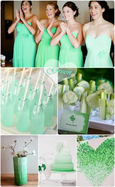 Ombre Weddings-New Wedding Trends for 2013 and 2014 |