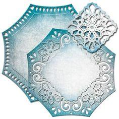 Spellbinders Nestabilities Labels 46  Decorative Element