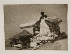 Qué valor - Goya