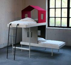 Lits superposés petites maisons