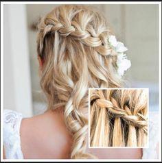 Hair idea for prom