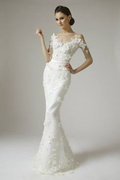 Vamp Mados Namai wedding dresses 2015 feature dominant white, made of high-quality fabrics and carefully designed details for perfect look 2015 Wedding Dresses, Wedding Attire, Bridal Dresses, Bridesmaid Dresses, Wedding Dressses, Dresses Dresses, Beautiful Wedding Gowns, Perfect Wedding Dress, Beautiful Dresses