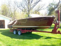 Classic Antique Wooden Boats For Sale  |  Pb728  |   Port Carling Boats - Antique & Classic Wooden Boats for Sale