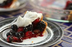 Summer Berry Pie (from Cooks Illustrated) by crumblycookie
