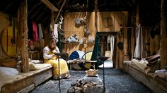At L'Anse aux Meadows National Historic Site, Canada Natural light, f/1.4