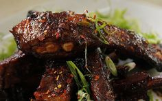 Try Sweet Sticky Ribs - Siba Mtonga Asian Recipes, Beef Recipes, Cooking Recipes, Healthy Recipes, Sticky Chicken, Best Meat, Recipe Details, Ribs, Food Network Recipes