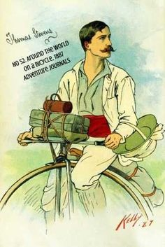 No 52. Around the World on a Bicycle, 1886 (Adventure Journals) ADVENTURE JOURNALS is a carefully curated journal collection featuring covers with thrilling landscapes, ancient ruins, conflict, sport,