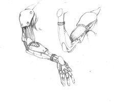 Cybernetic Arms by Sidwalker