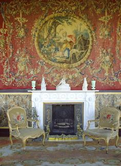 Fireplace, Bantry House, Co. Cork, Ireland. Please like http://www.facebook.com/RagDollMagazine and follow @RagDollMagBlog @priscillacita
