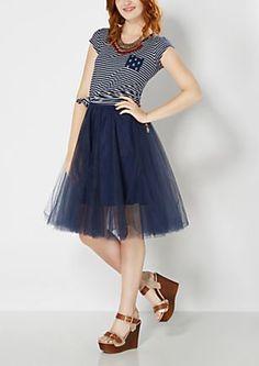 image of Light Pink Tulle Ballerina Skirt