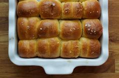 Parker House Rolls from Tasting Table - http://www.tastingtable.com/entry_detail/chefs_recipes/11350/Holiday_or_not_these_rolls_are_staying_for_dinner.htm