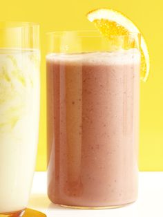 Raspberry-Orange Smoothie: Zesty orange, sweet raspberries, yogurt and ...