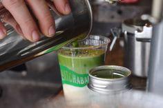 ニューヨーク発の抹茶バーで、スイカ入りの抹茶を飲んでみた