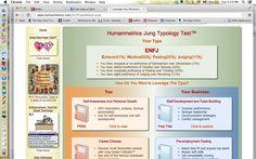 http://www.humanmetrics.com/personality/enfj  http://www.humanmetrics.com/personality/INFJ