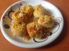 Potato masala puri - Hellomomy