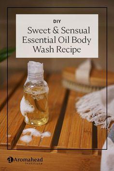 Essential Oil Aphrodisiac, Diy Body Wash, Diy Spa Day, Diy Beauty, Beauty Hacks, Homemade Beauty Products, Doterra Essential Oils, Beauty Recipe, Soap Recipes