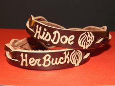 Couples Bracelets - His and Her Bracelet Custom - Personalized Couples Bracelets - Leather Bracelets Sold Separately by ShockwaveMB on Etsy https://www.etsy.com/listing/166758912/couples-bracelets-his-and-her-bracelet