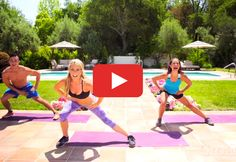 Focus on your quads, hamstrings, glutes, and calves in this strength-building routine. #bodyweight #exercises #video #workout http://greatist.com/move/lower-body-workout