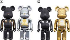 Mastermind Japan X Medicom Toy Berbrick 100 400 1000