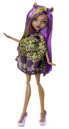 Monster High Skull Shores Clawdeen Wolf (owned)