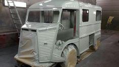 Citroen Type H, Citroen H Van, Happy Campers, Campervan, Old Cars, Business Ideas, Recreational Vehicles, Aquarium, Automobile