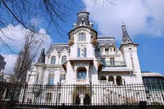 Kretzulescu Palace from Bucharest, Romania Built in the early century, designed by the Romanian architect Petre Antonescu in the French Renaissance style Capital Of Romania, Little Paris, Bohemian House, Classic Architecture, English Style, Beautiful Stories, My Dream Home, Exterior Design, Places To Travel