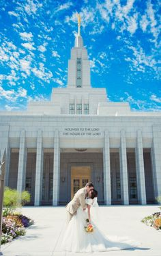 Draper LDS Temple. I walked on the temple grounds and it was BEAUTIFUL!!! :)