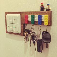 簡単可愛い!レゴキーホルダーの作り方&カギ置き場の実例アイデア集! :85|