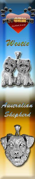 Silver dog charm jewelry