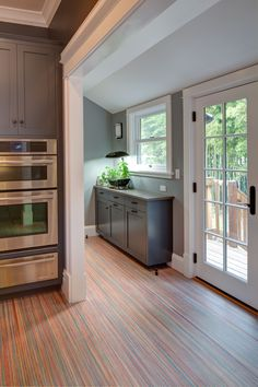 marmoleum floor...Kitchen Remodeling Project by Hammer & Hand
