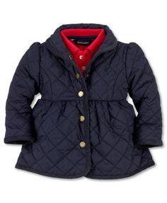 Ralph Lauren Baby Jacket, Baby Girl Microfiber Jacket