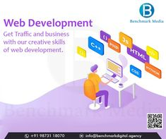 Turn your website into a lead-generating machine. Learn about Benchmark Media professional Web development services. E Commerce Business, Online Business, Digital Marketing Services, Email Marketing, Creative Skills, S Mo, Web Development, Website, Learning