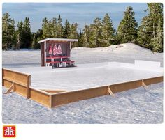 Bring hockey home this winter with everything you need to build your very own backyard skating rink.