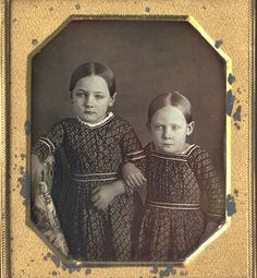 Antique photo, sisters, CWFP Skylight Gallery Auction Results: 1839-1865 Photograph: ia465.